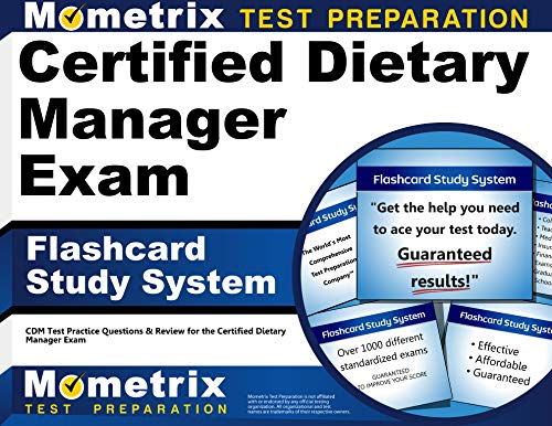 9781609712945: Certified Dietary Manager Exam Flashcard Study System