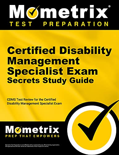 9781609712952: Certified Disability Management Specialist Exam Secrets, Study Guide: CDMS Test Review for the Certified Disability Management Specialist Exam