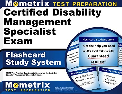 Certified Disability Management Specialist Exam Flashcard Study: Cdms Exam Secrets