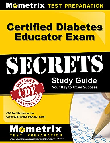 9781609713010: Certified Diabetes Educator Exam Secrets Study Guide: CDE Test Review for the Certified Diabetes Educator Exam