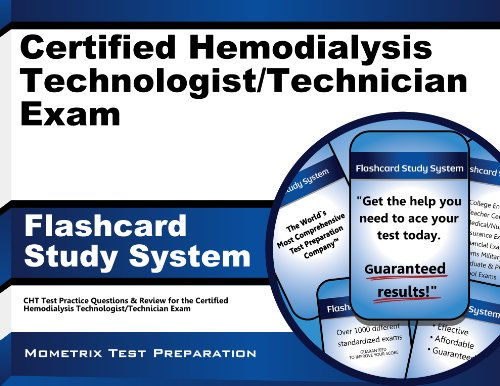 9781609713041: Certified Hemodialysis Technologist/Technician Exam Flashcard Study System: CHT Test Practice Questions & Review for the Certified Hemodialysis Technologist/Technician Exam (Cards)