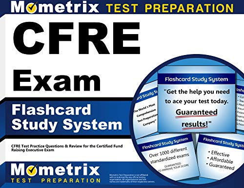 9781609713171: CFRE Exam Flashcard Study System: CFRE Test Practice Questions & Review for the Certified Fund Raising Executive Exam (Cards)