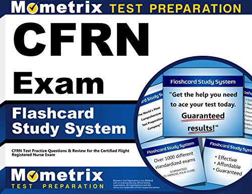 9781609713195: CFRN Exam Flashcard Study System: CFRN Test Practice Questions & Review for the Certified Flight Registered Nurse Exam (Cards)