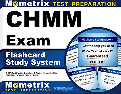 9781609713416: CHMM Exam Flashcard Study System: CHMM Test Practice ...