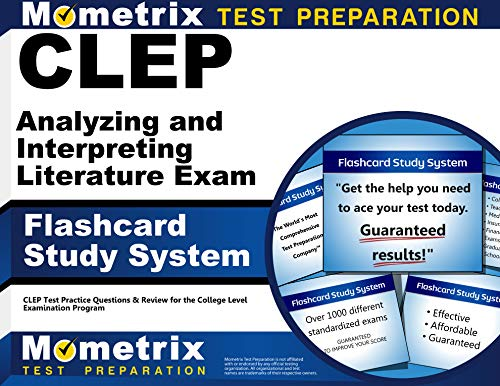 CLEP Analyzing and Interpreting Literature Exam Flashcard Study System: CLEP Test Practice ...