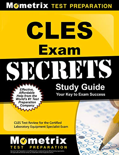 9781609714000: CLES Exam Secrets Study Guide: CLES Test Review for the Certified Laboratory Equipment Specialist Exam