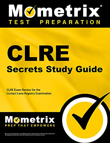 9781609714062: CLRE Secrets Study Guide: CLRE Exam Review for the Contact Lens Registry Examination