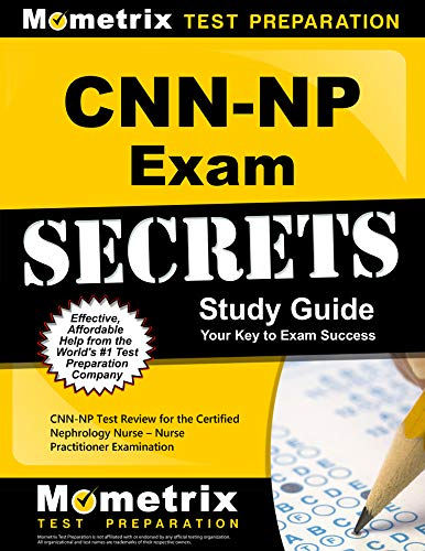 9781609714338: CNN-NP Exam Secrets, Study Guide: CNN-NP Test Review for the Certified Nephrology Nurse - Nurse Practitioner Examination