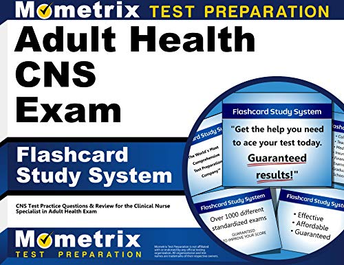 9781609714383: Adult Health CNS Exam Flashcard Study System: CNS Test Practice Questions & Review for the Clinical Nurse Specialist in Adult Health Exam (Cards)