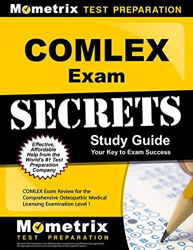 9781609714550: COMLEX Secrets Study Guide: COMLEX Exam Review for the Comprehensive Osteopathic Medical Licensing Examination Level 1