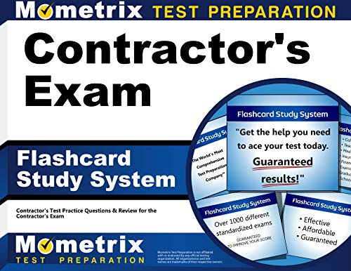 9781609714581: Contractor's Exam Flashcard Study System: Contractor's Test Practice Questions & Review for the Contractor's Exam (Cards)