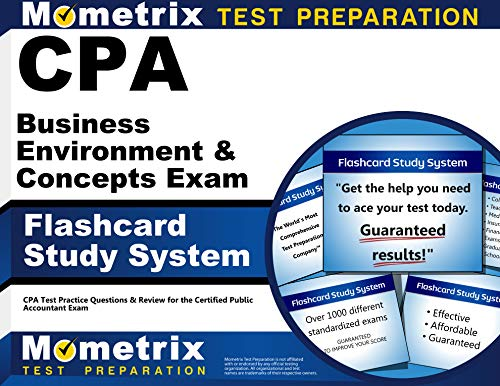 9781609714758: CPA Business Environment & Concepts Exam Flashcard Study System: CPA Test Practice Questions & Review for the Certified Public Accountant Exam (Cards)