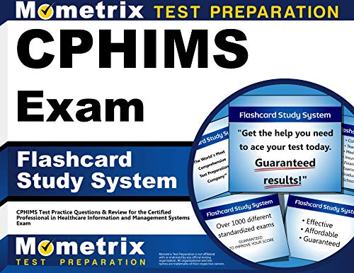 9781609714895: CPHIMS Exam Flashcard Study System: CPHIMS Test Practice Questions & Review for the Certified Professional in Healthcare Information and Management Systems Exam (Cards)