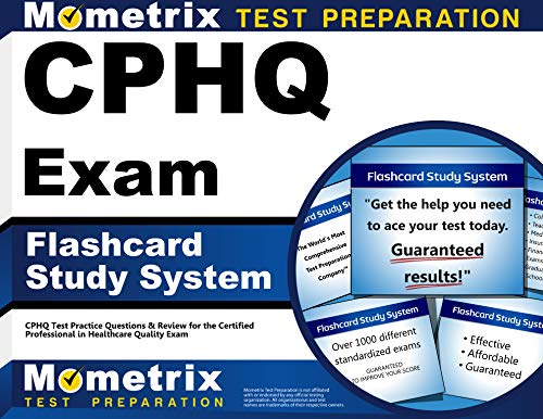 9781609714918: CPHQ Exam Flashcard Study System: CPHQ Test Practice Questions & Review for the Certified Professional in Healthcare Quality Exam (Cards)
