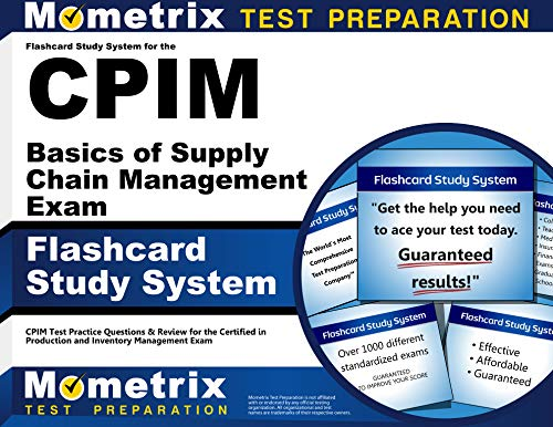 9781609715038: Flashcard Study System for the CPIM Basics of Supply Chain Management Exam: CPIM Test Practice Questions & Review for the Certified in Production and Inventory Management Exam (Cards)