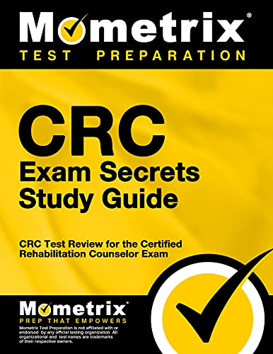 9781609715205: CRC Exam Secrets Study Guide: CRC Test Review for the Certified Rehabilitation Counselor Exam