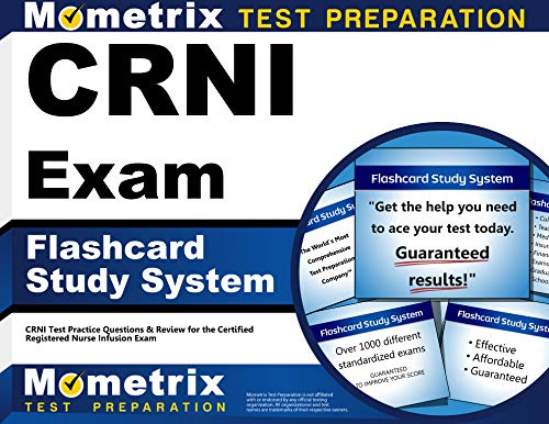 CRNI Exam Flashcard Study System: CRNI Test Practice Questions & Review for the Certified ...
