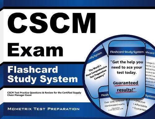 9781609715427: CSCM Exam Flashcard Study System: CSCM Test Practice Questions & Review for the Certified Supply Chain Manager Exam (Cards)