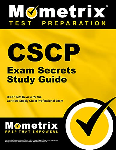 9781609715434: CSCP Exam Secrets Study Guide: CSCP Test Review for the Certified Supply Chain Professional Exam