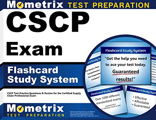 9781609715441: CSCP Exam Flashcard Study System: CSCP Test Practice Questions & Review for the Certified Supply Chain Professional Exam (Cards)