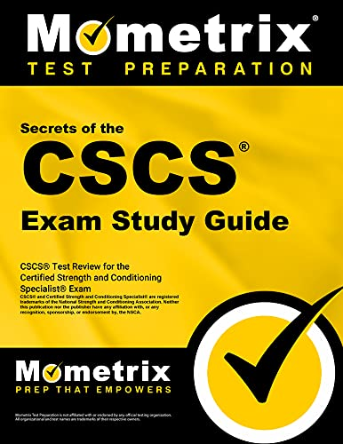9781609715458: Secrets of the CSCS Exam Study Guide: CSCS Test Review for the Certified Strength and Conditioning Specialist Exam