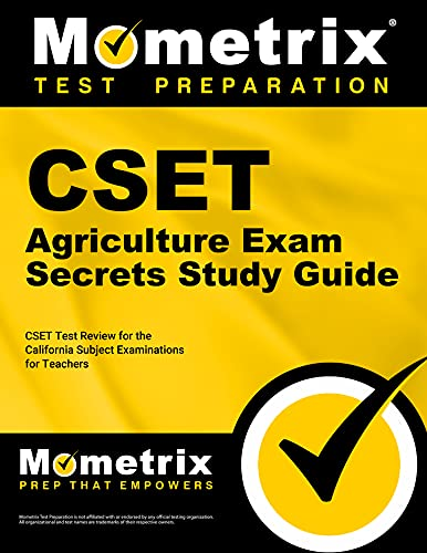 9781609715472: CSET Agriculture Exam Secrets Study Guide: CSET Test Review for the California Subject Examinations for Teachers (Mometrix Secrets Study Guides)