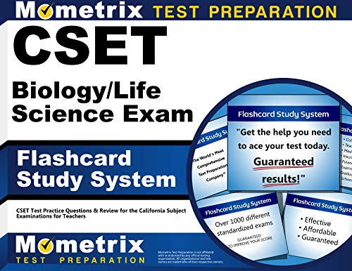 9781609715526: CSET Biology/Life Science Exam Flashcard Study System: CSET Test Practice Questions & Review for the California Subject Examinations for Teachers (Cards)