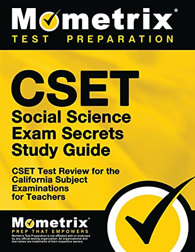 9781609715793: CSET Social Science Exam Secrets Study Guide: CSET Test Review for the California Subject Examinations for Teachers (Mometrix Secrets Study Guides)
