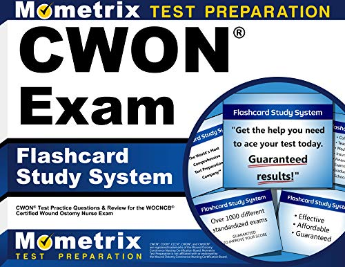 9781609716035: CWON Exam Flashcard Study System: CWON Test Practice Questions & Review for the WOCNCB Certified Wound Ostomy Nurse Exam (Cards)