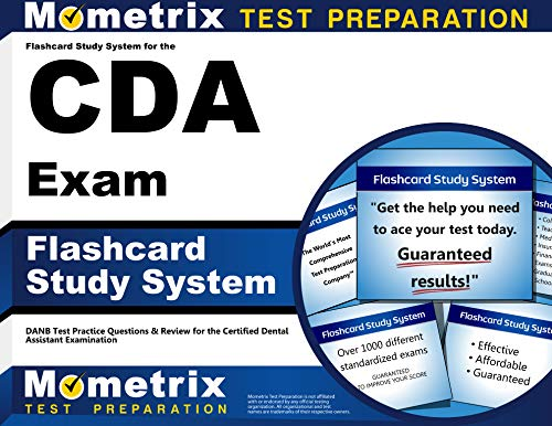 9781609716073: Flashcard Study System for the CDA Exam: DANB Test Practice Questions & Review for the Certified Dental Assistant Examination (Cards)