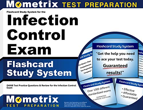 9781609716134: Flashcard Study System for the Infection Control Exam: DANB Test Practice Questions & Review for the Infection Control Exam (Cards)