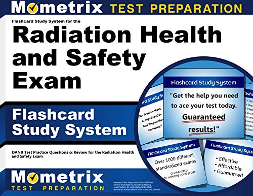 9781609716172: Flashcard Study System for the Radiation Health and Safety Exam: DANB Test Practice Questions & Review for the Radiation Health and Safety Exam (Cards)