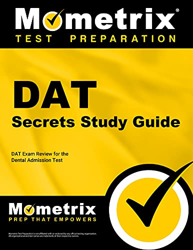 9781609716189: DAT Secrets Study Guide: DAT Exam Review for the Dental Admission Test