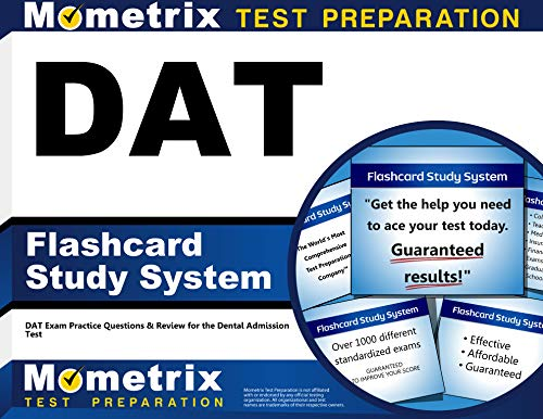 9781609716196: DAT Flashcard Study System: DAT Exam Practice Questions & Review for the Dental Admission Test (Cards)