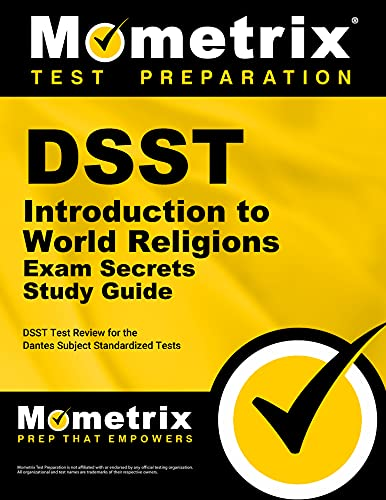 9781609716479: DSST Introduction to World Religions Exam Secrets Study Guide: DSST Test Review for the Dantes Subject Standardized Tests