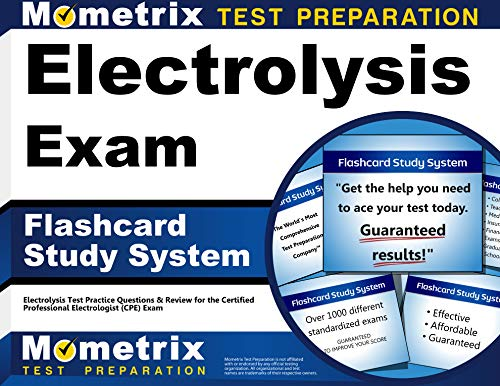 9781609716684: Electrolysis Exam Flashcard Study System: Electrolysis Test Practice Questions & Review for the Certified Professional Electrologist (CPE) Exam (Cards)