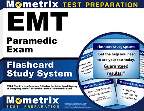9781609716769: EMT Paramedic Exam Flashcard Study System: EMT-P Test Practice Questions & Review for the National Registry of Emergency Medical Technicians (NREMT) Paramedic Exam (Cards)