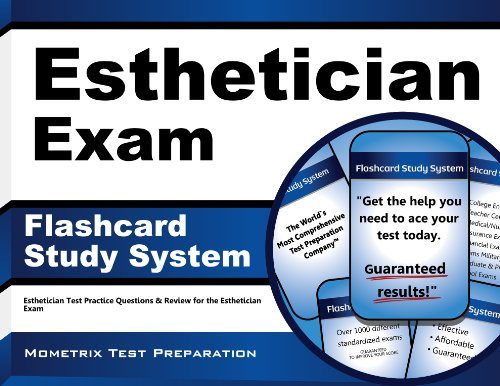 9781609716820: Esthetician Exam Flashcard Study System: Esthetician Test Practice Questions & Review for the Esthetician Exam (Cards)