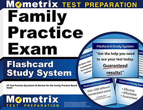 Family Practice Exam Flashcard Study System: FP Test Practice Questions & Review for the Family...