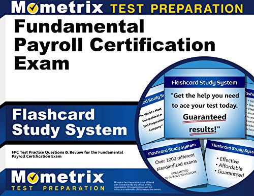 9781609716950: Fundamental Payroll Certification Exam Flashcard Study System: FPC Test Practice Questions & Review for the Fundamental Payroll Certification Exam (Cards)