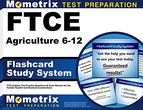 9781609717025: FTCE Agriculture 6-12 Flashcard Study System: FTCE Test Practice Questions & Exam Review for the Florida Teacher Certification Examinations (Cards)