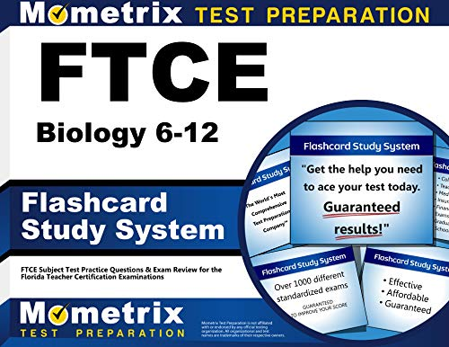 9781609717063: FTCE Biology 6-12 Flashcard Study System: FTCE Test Practice Questions & Exam Review for the Florida Teacher Certification Examinations (Cards)