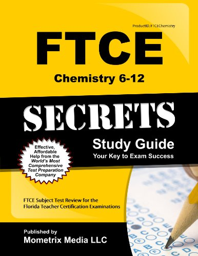 9781609717094: FTCE Chemistry 6-12 Secrets Study Guide: FTCE Test Review for the Florida Teacher Certification Examinations