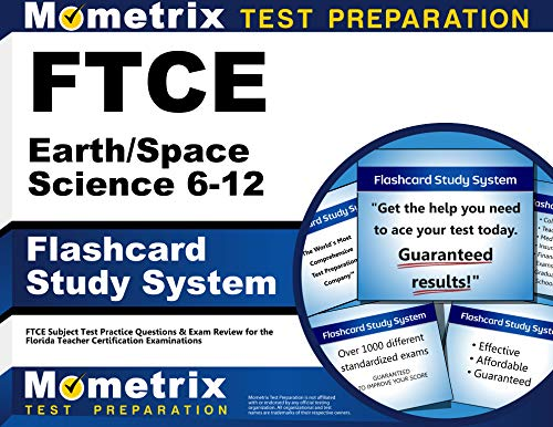 9781609717148: Ftce Earth/Space Science 6-12 Flashcard Study System: Ftce Subject Test Practice Questions & Exam Review for the Florida Teacher Certification Examinations