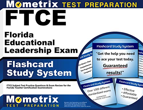 9781609717285: FTCE Florida Educational Leadership Exam Flashcard Study System: FTCE Test Practice Questions & Exam Review for the Florida Teacher Certification Examinations (Cards)