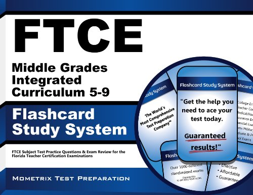 9781609717445: FTCE Middle Grades Integrated Curriculum 5-9 Flashcard Study System: FTCE Test Practice Questions & Exam Review for the Florida Teacher Certification Examinations (Cards)