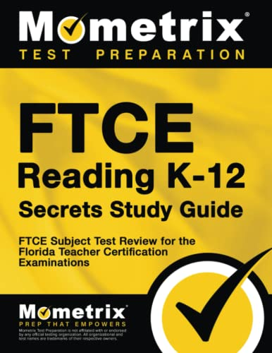 9781609717612: FTCE Reading K-12 Secrets Study Guide: FTCE Test Review for the Florida Teacher Certification Examinations