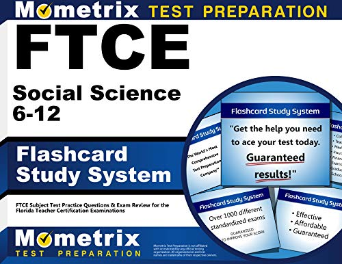 9781609717643: FTCE Social Science 6-12 Flashcard Study System: FTCE Test Practice Questions & Exam Review for the Florida Teacher Certification Examinations (Cards)