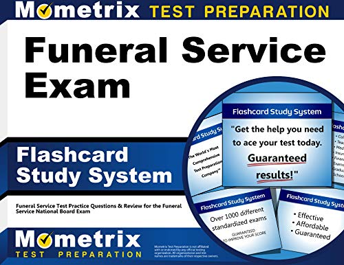 9781609717698: Funeral Service Exam Flashcard Study System: Funeral Service Test Practice Questions & Review for the Funeral Service National Board Exam (Cards)