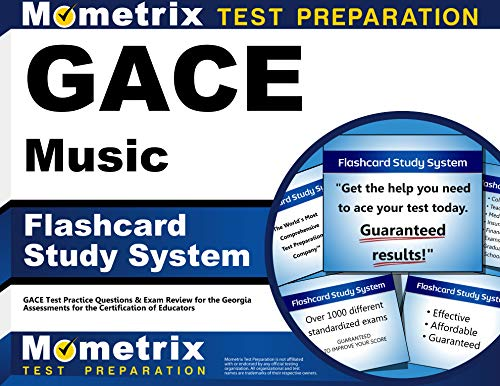 9781609718213: GACE Music Flashcard Study System: GACE Test Practice Questions & Exam Review for the Georgia Assessments for the Certification of Educators (Cards)